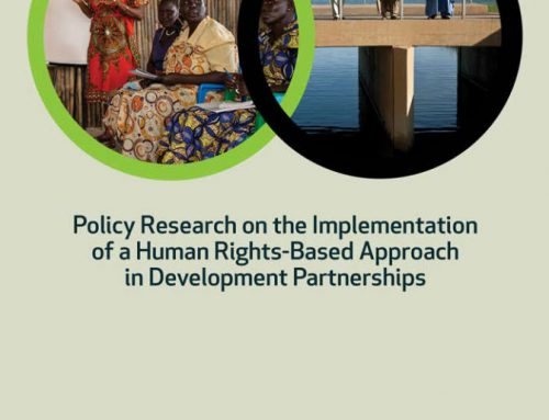 Policy Research on the Implementation of a Human Rights-Based Approach in Development Partnerships