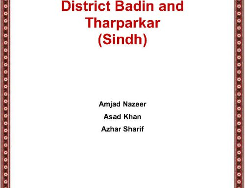 State of Education in District Badin and Tharparkar