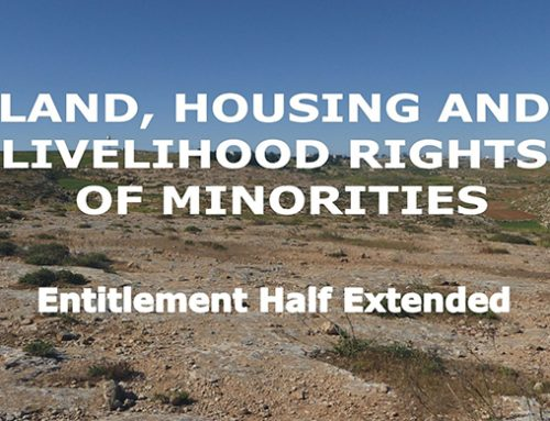 Land, Housing and Livelihood Rights of Minorities
